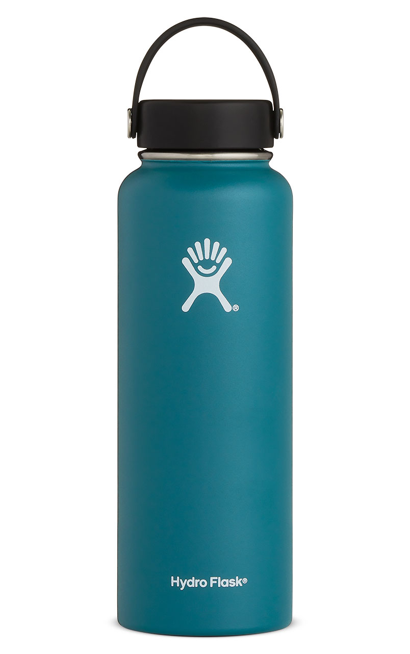 40 oz vacuum insulated stainless steel water bottle hydro flask