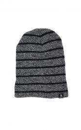 Hydro Flask Slouch Tonal Stripe Beanie - Graphite
