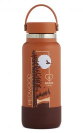 Hydro Flask National Park Foundation Limited Edition 32 oz Wide Mouth - Redwood