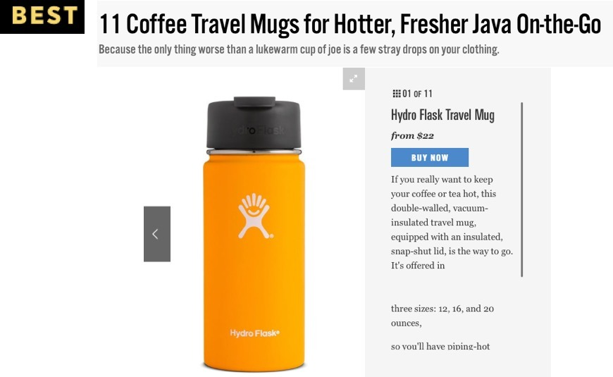 11 Coffee Travel Mugs for Hotter, Fresher Java On-the-Go