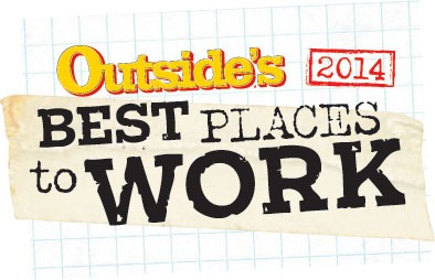 Outside Magazine's Best Places to Work 2014