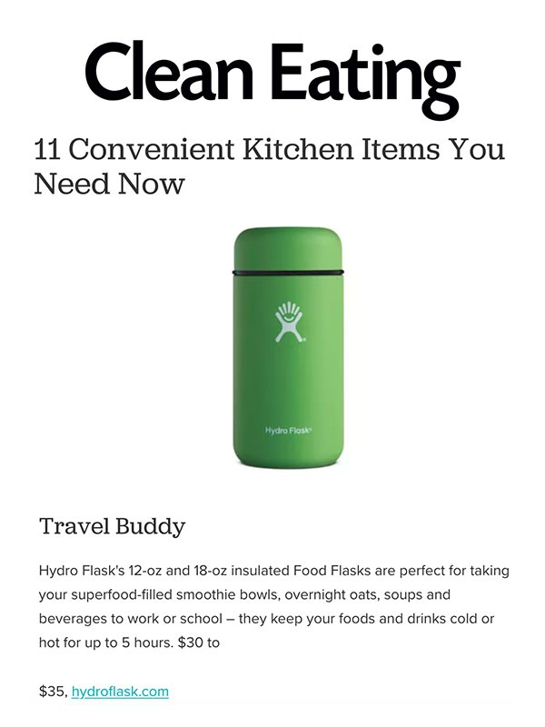 11 Convenient Kitchen Items You Need Now
