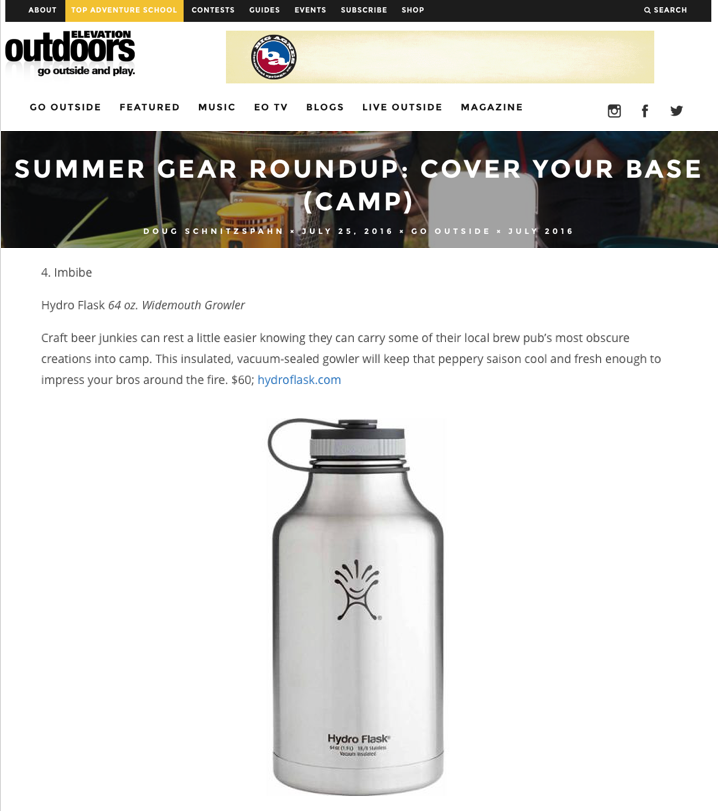 Summer Gear Roundup: Cover Your Base (Camp)