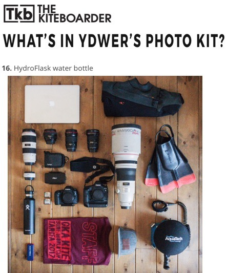 What's in Ydwer's Photo Kit?