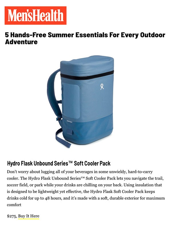 5 Hands Free Summer Essentials For Every Outdoor Adventure