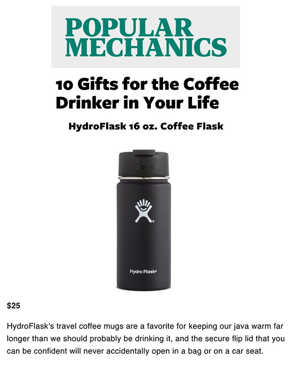 10 Gifts for the Coffee Drinker in Your Life