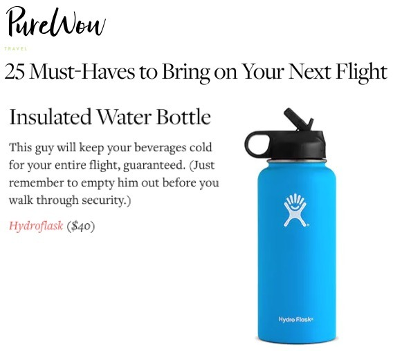 25 Must-Haves to Bring on Your Next Flight
