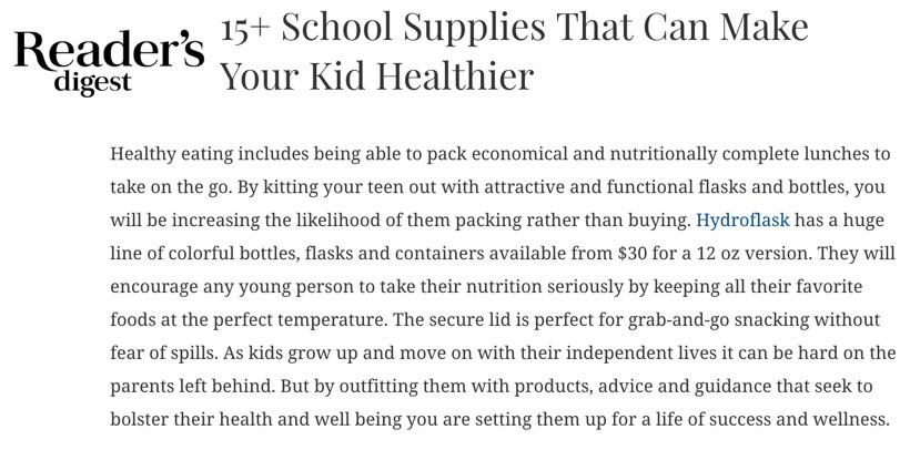 15+ School Supplies That Can Make Your Kid Healthier