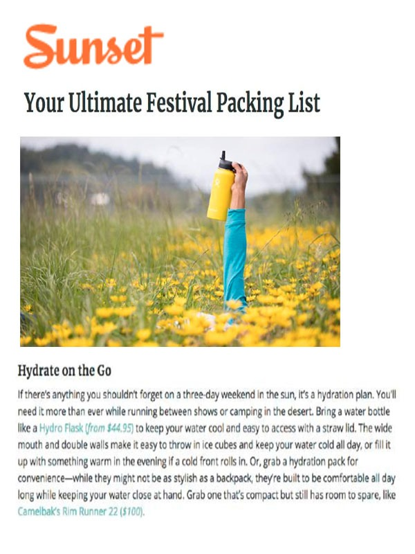 Your Ultimate Festival Packing List