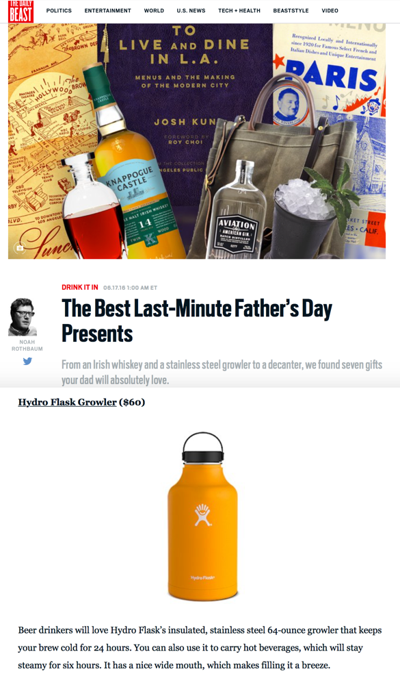 The Best Last-Minute Father's Day Presents