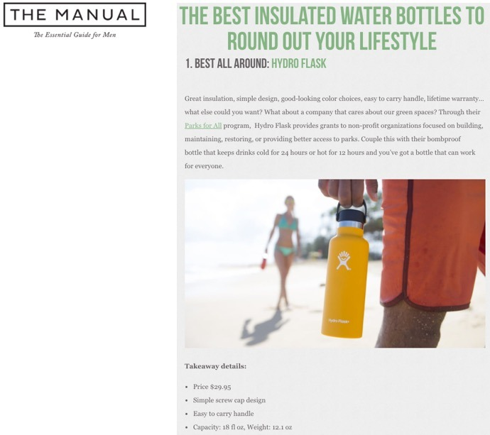 The Best Insulated Water Bottles To Round Out Your Lifestyle