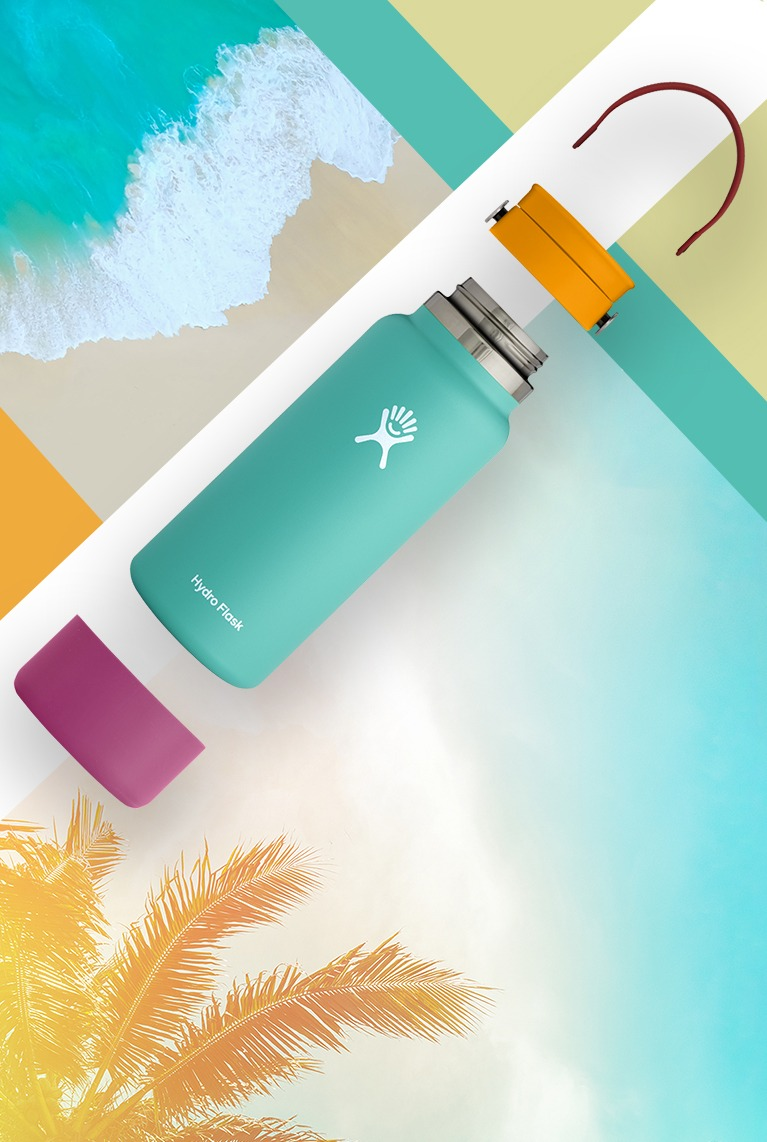 From strap and cap to bottle and boot, pick every part of your perfect bottle. Create your own My Hydro now!
