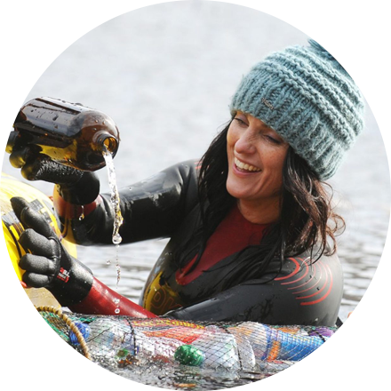 As a current adventure activist, Laura Sanderson is embracing the refilling revolution by joining Hydro Flask to #RefillForGood mobile