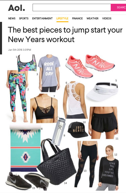 """""""The Best Pieces to Jumpstart your New Year's Workout"""""""