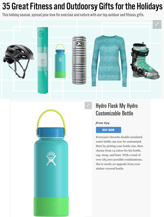 35 Great Fitness and Outdoorsy Gifts