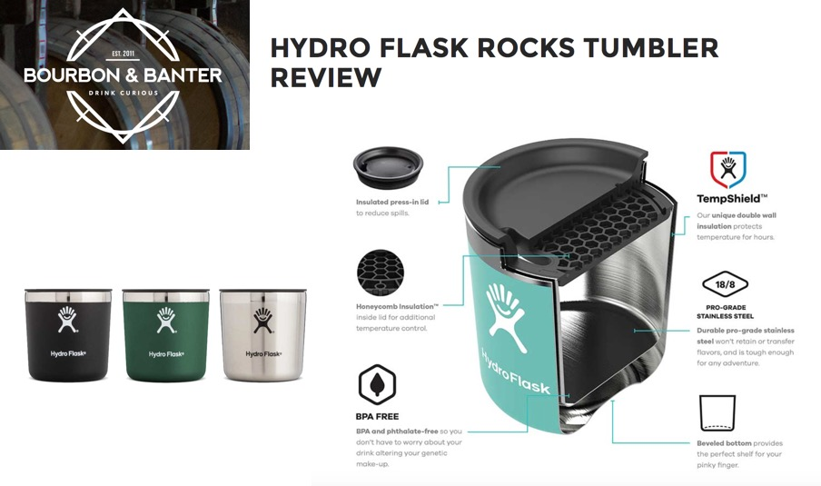 Hydro Flask Rocks Tumbler Review
