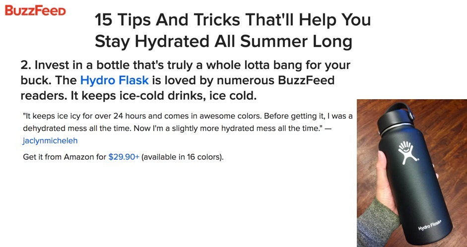 15 Tips and Tricks That'll Help You Stay Hydrated All Summer Long