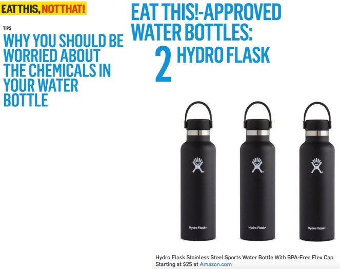 Eat This!-Approved Water Bottles