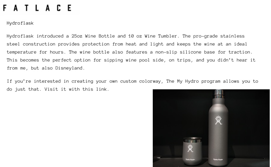 """""""...keeps the wine at an ideal temperature for hours."""""""