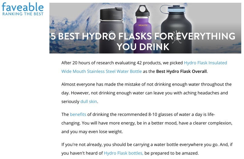 5 Best Hydro Flasks for Everything You Drink