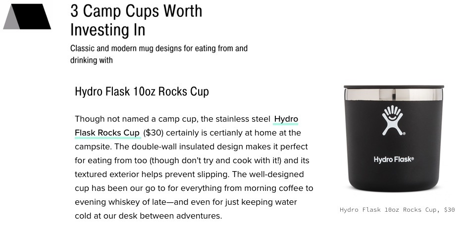 3 Camp Cups Worth Investing In