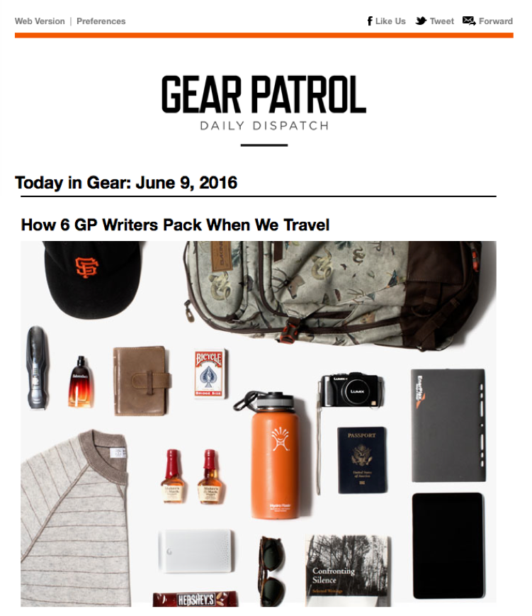 How 6 GP Writers Pack When We Travel