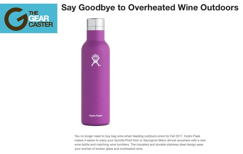 Say Goodbye to Overheated Wine Outdoors