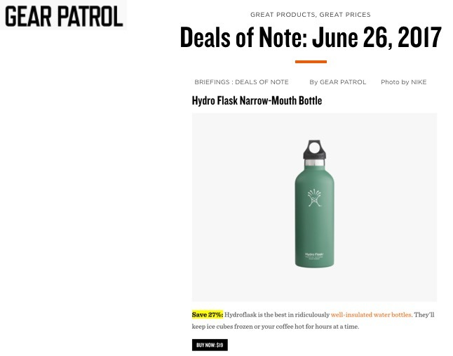 Deals of Note: June 26, 2017