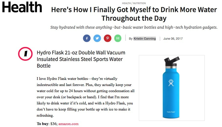 """Stay hydrated with these anything-but-basic water bottles..."""