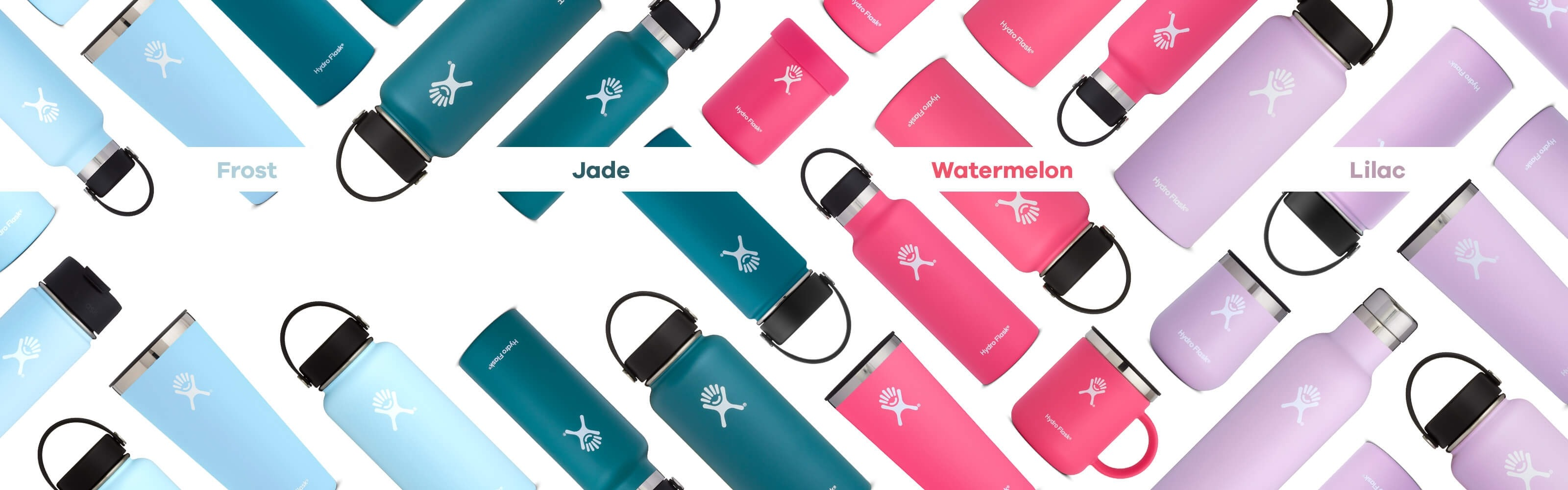 Introducing new colors: Jade, Lilac, Watermelon, and Frost.