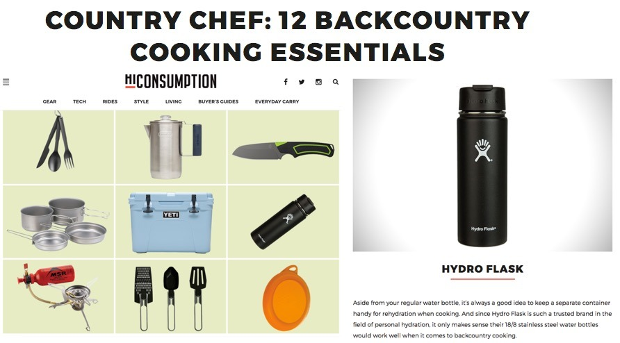 Country Chef: 12 Backcountry Cooking Essentials