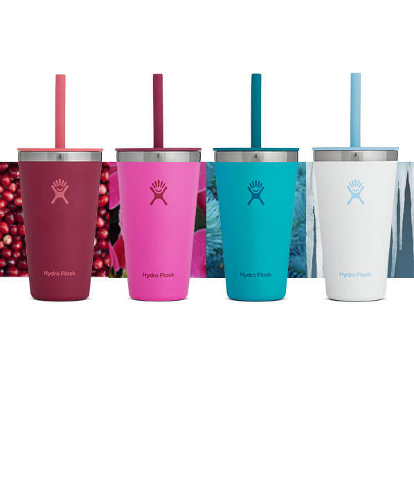 Savor your favorite holiday beverage with our limited edition 16 oz Tumblers.