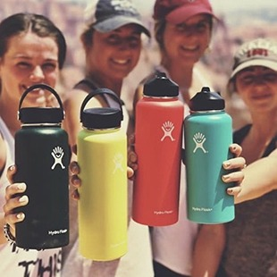 Hydro Flask Stainless Steel Vacuum Insulated Water Bottles - Social Image #4