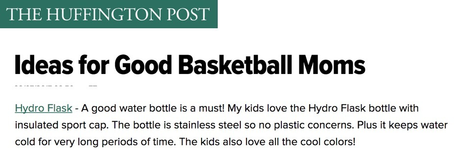 Ideas for Good Basketball Moms