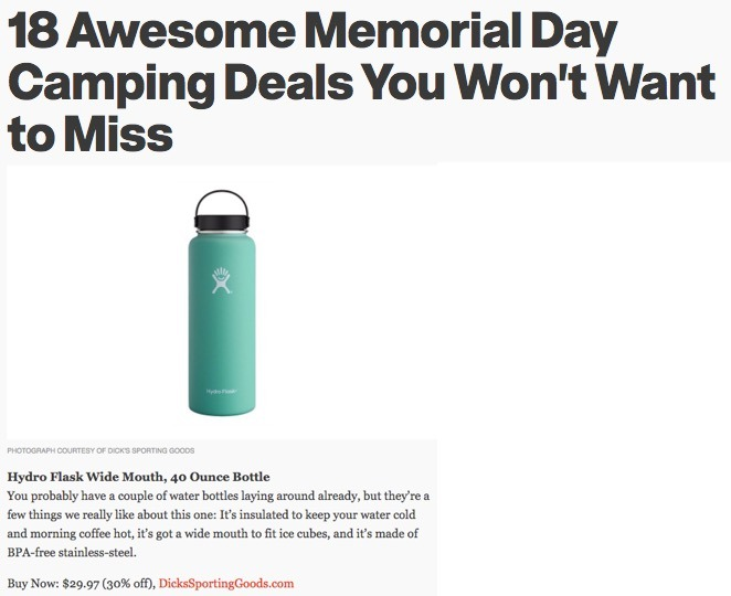 18 Awesome Memorial Day Camping Deals You Won't Want to Miss
