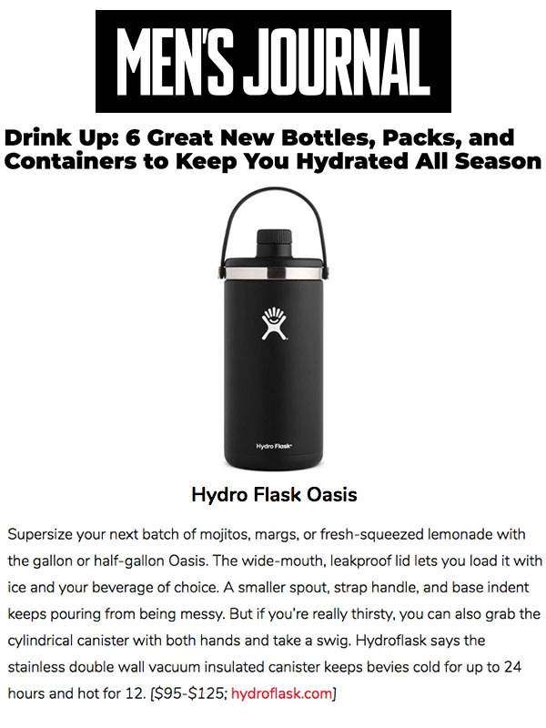 6 Great New Bottles, Packs and Containers