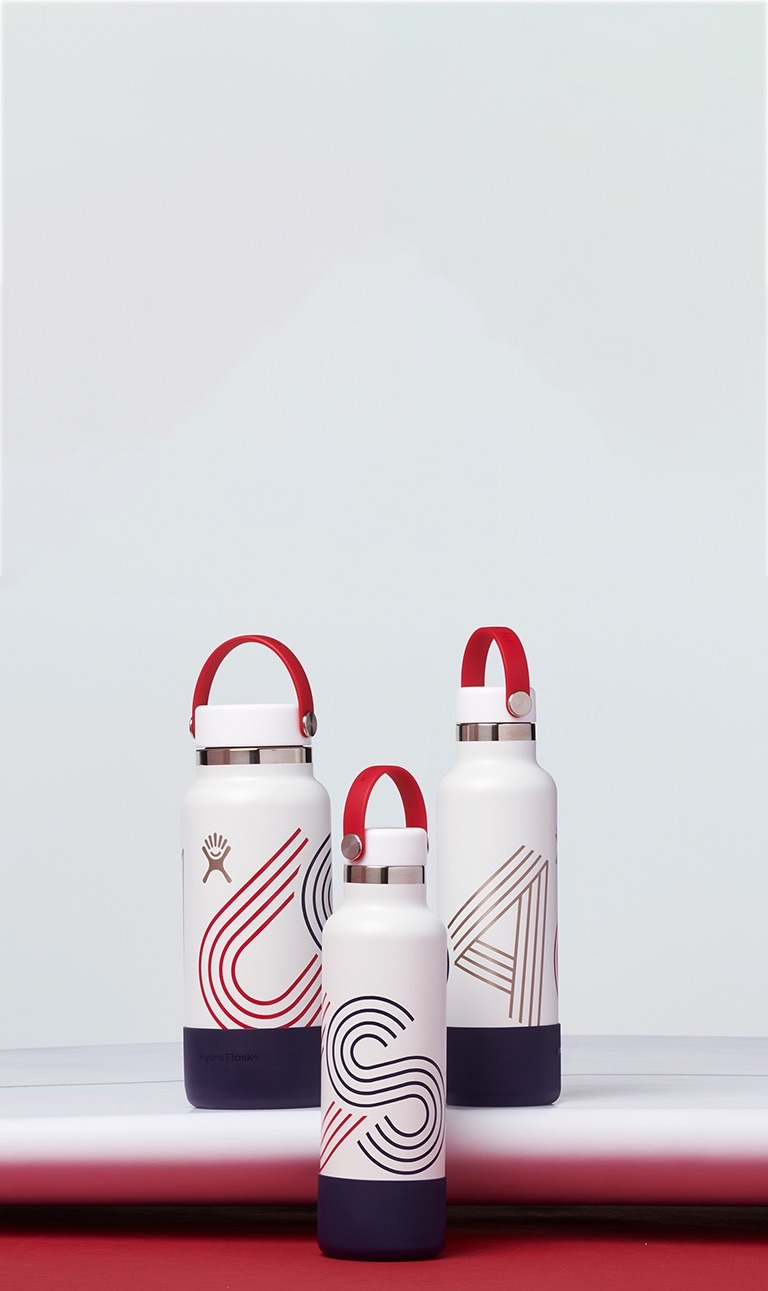 Hydro Flask is proud to support USA Surfing athletes as they represent the USA in Tokyo this summer. Grab this limited edition bottle while supplies last!
