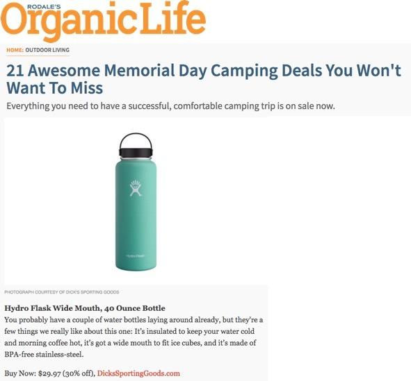 21 Awesome Memorial Day Camping Deals You Won't Want to Miss