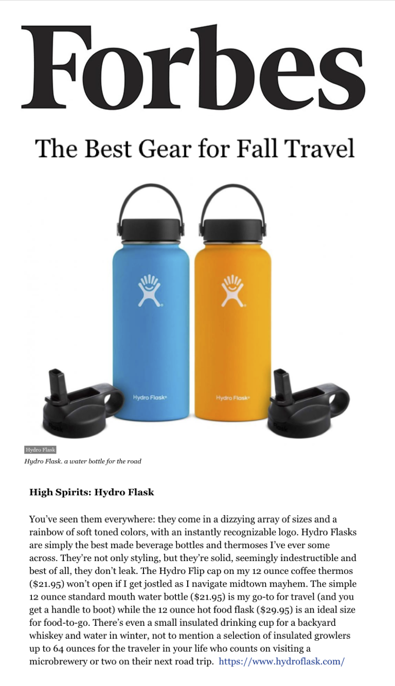 The Best Gear for Fall Travel