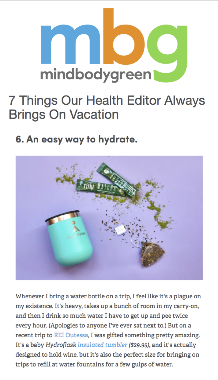 7 Things Our Health Editor Always Brings On Vacation