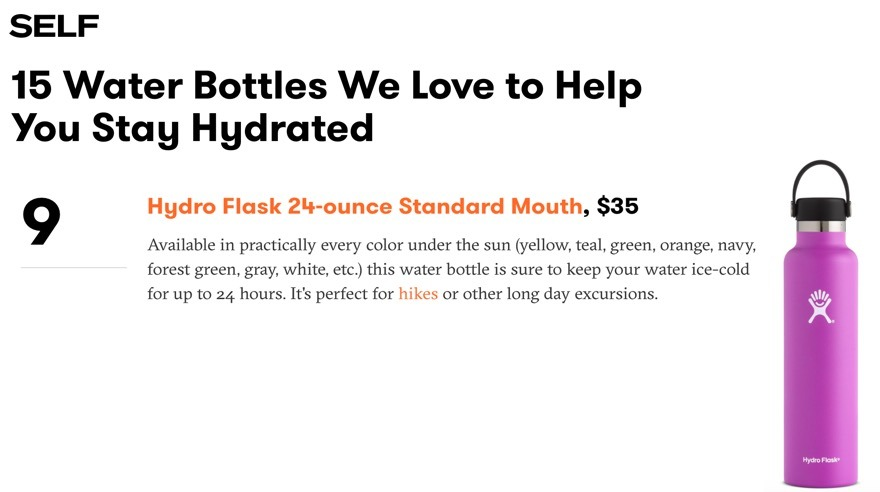 15 Water Bottles We Love to Help You Stay Hydrated