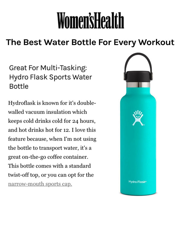 The Best Water Bottle for Every Workout