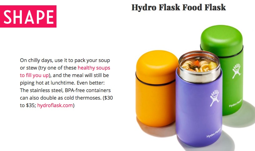 Boîte alimentaire Food Flask d'Hydro Flask (en anglais)